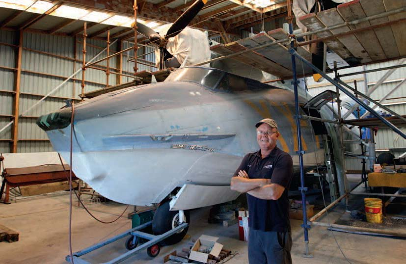 Brett Emeny of the New Zealand catalina preservation society