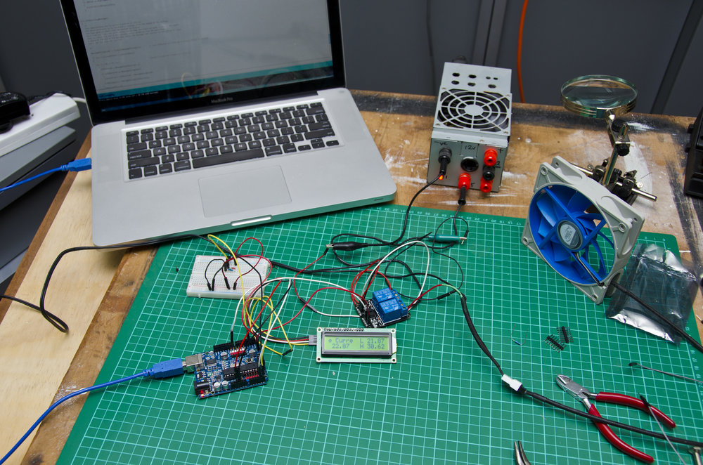 LCD for the Temp Controlled Relay
