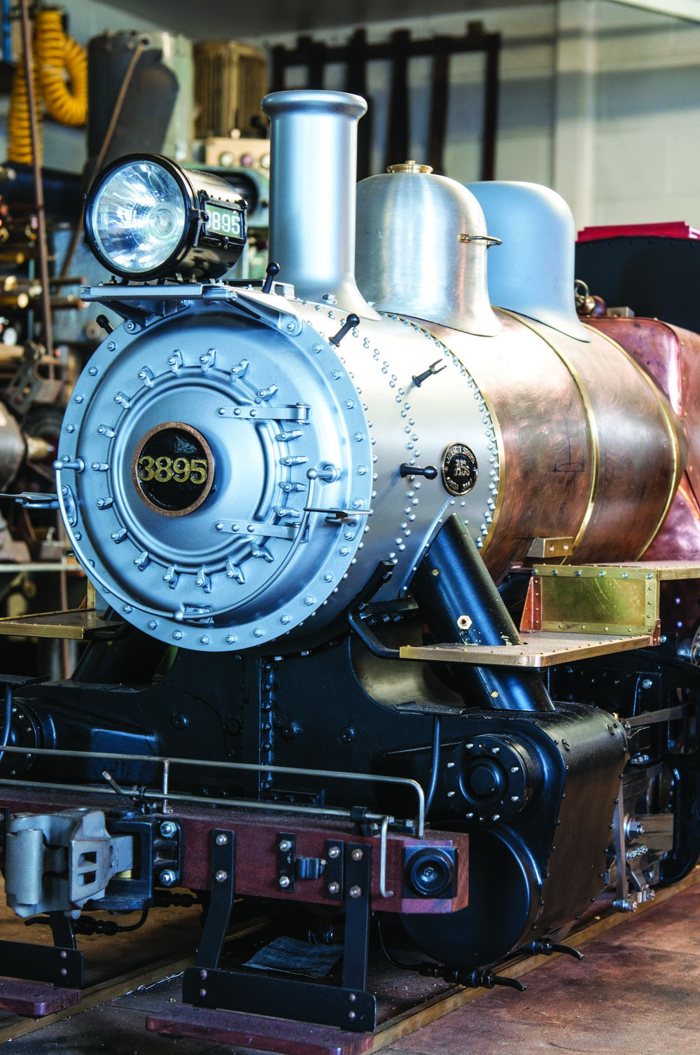A peek into the shed of a steam-engine builder — The Shed