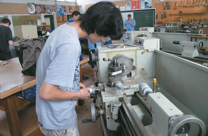 William Lin at Rangitoto College...impressive student work.