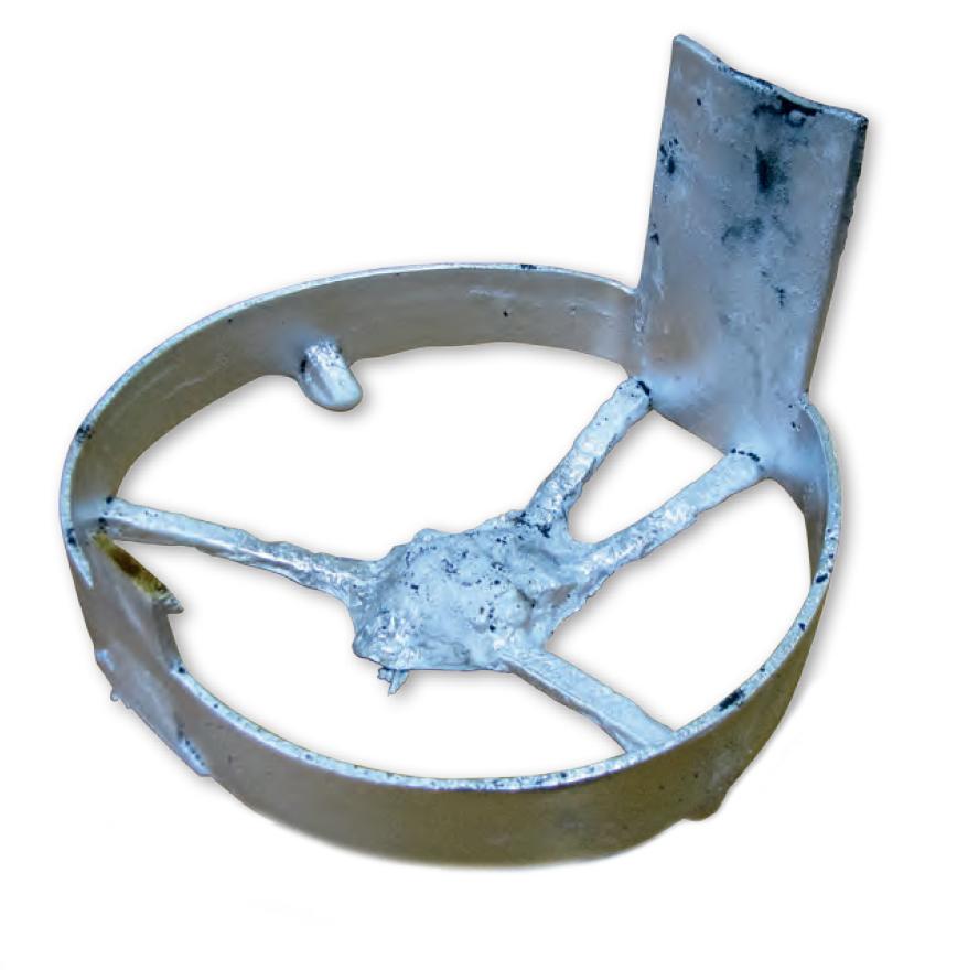 Aluminium cast motorguard