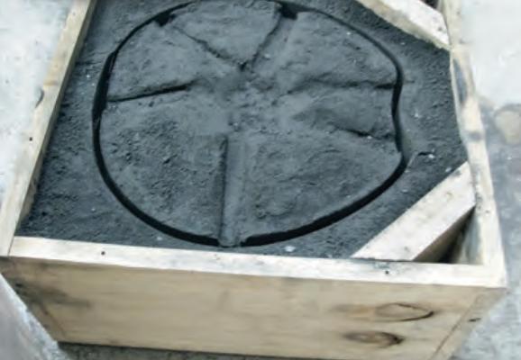 Motorguard casting mould.