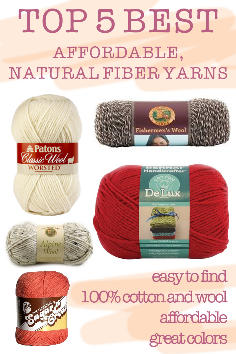 TOP 5: the best affordable, natural fiber yarns — elisemade