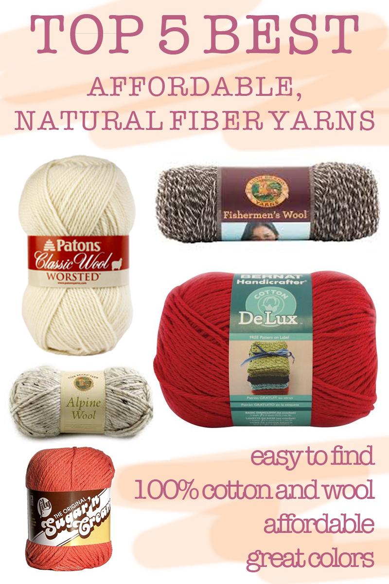 TOP 5: the best affordable, natural fiber yarns — elisemade