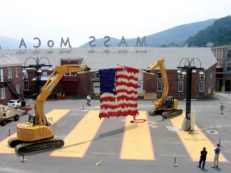 photo credit: Mass MoCA, from  www.davecoledavecole.com