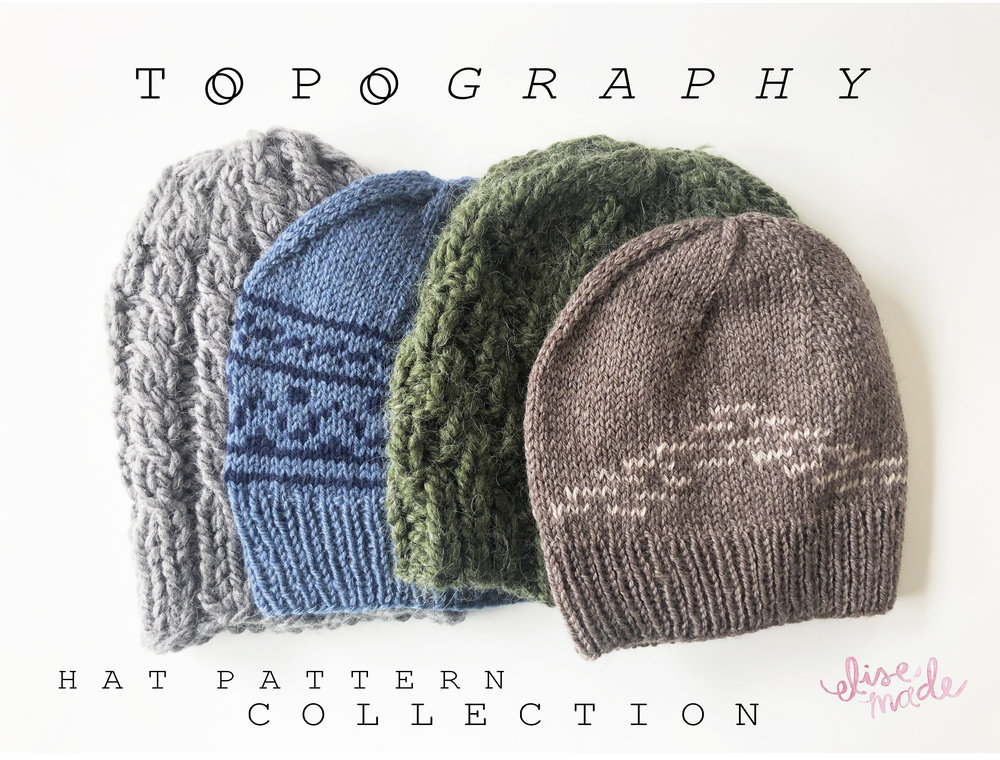 Topography-hat-knitting-pattern-collection-unisex-hats-knitting-patterns-by-elisemade.jpg