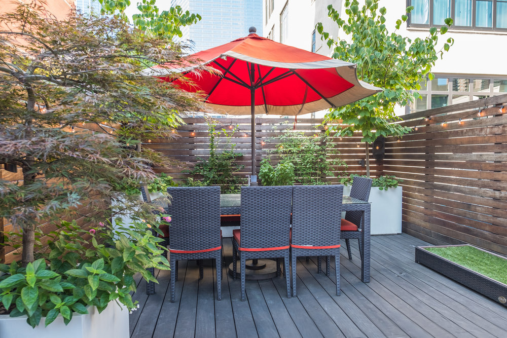 Excited to transform an expansive TriBeCa rooftop we created a playground the whole family could enjoy. The large pergola is covered in flowering vines and ... & KATONAH ROOTS GARDEN DESIGN +BUILD \u2014 RESIDENTIAL