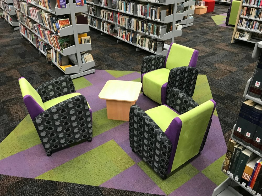After - Lithgow Library reading nooks