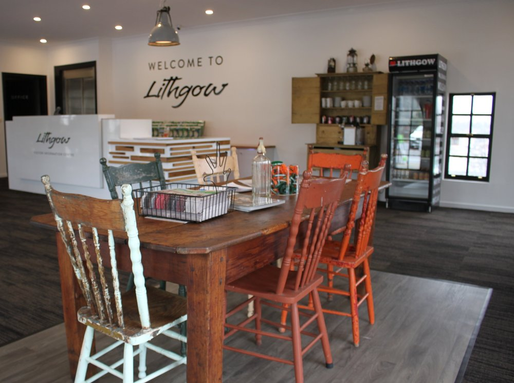 Carol b. Retail Revamp – Retail Design, Lithgow Visitors Information Centre