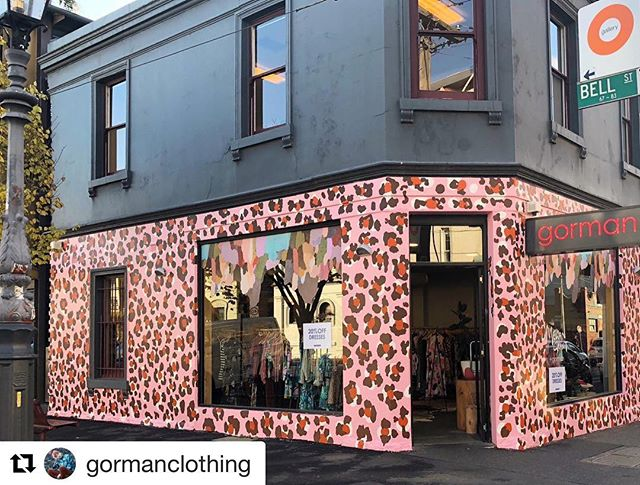 Check out the wild leopard printed walls at @gormanclothing in Fitzroy in Melbourne! ❤️ #retail #design #retaildesign #visual #merchandising #visualmerchandising #vmlife #props #vm #windowdisplays #windows #retailstyling #styling #creative #visualmerchandiser #stylingtips #display #lovemyjob #retailrevamp