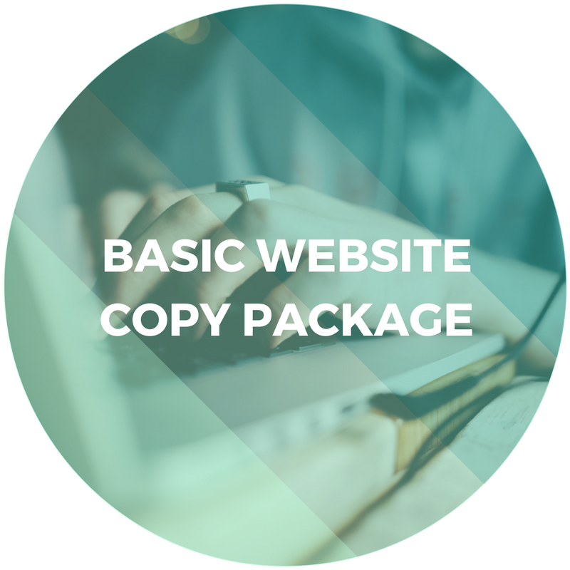 Basic Website Copy Package
