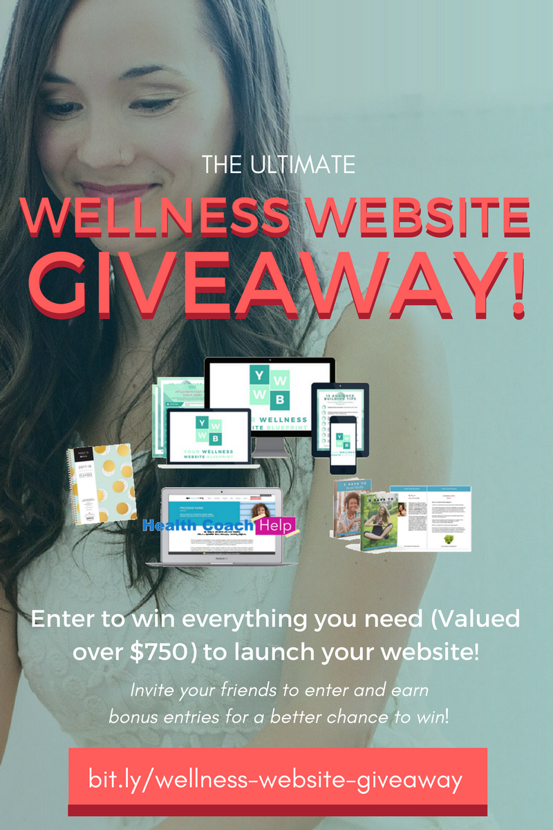 Ultimate Wellness Website Giveaway