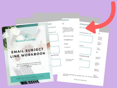 Email Subject Line Workbook Mockup