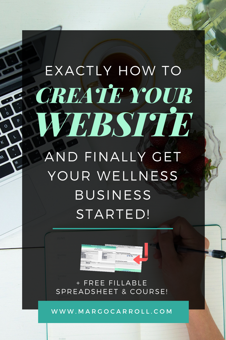 How to Create Your Website And Finally Get Your Business Started!