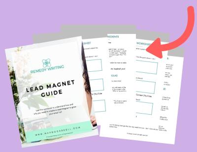 Lead Magnet Guide Workbook Mockup