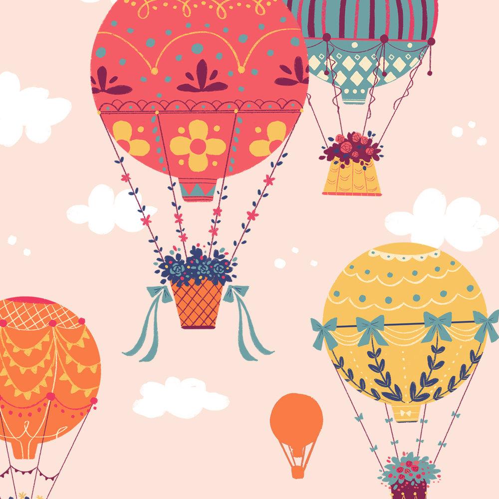 Dream of Hot Air Balloon -