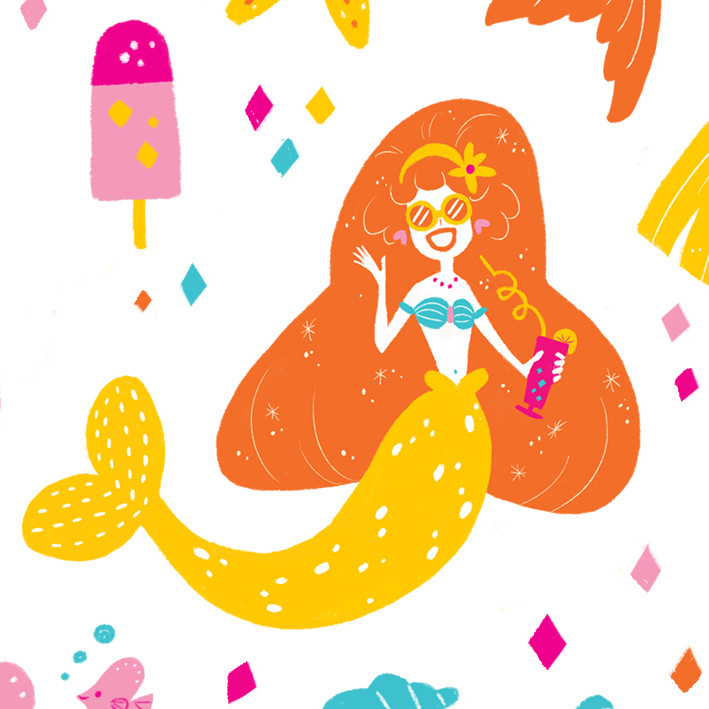 Summer Mermaid -