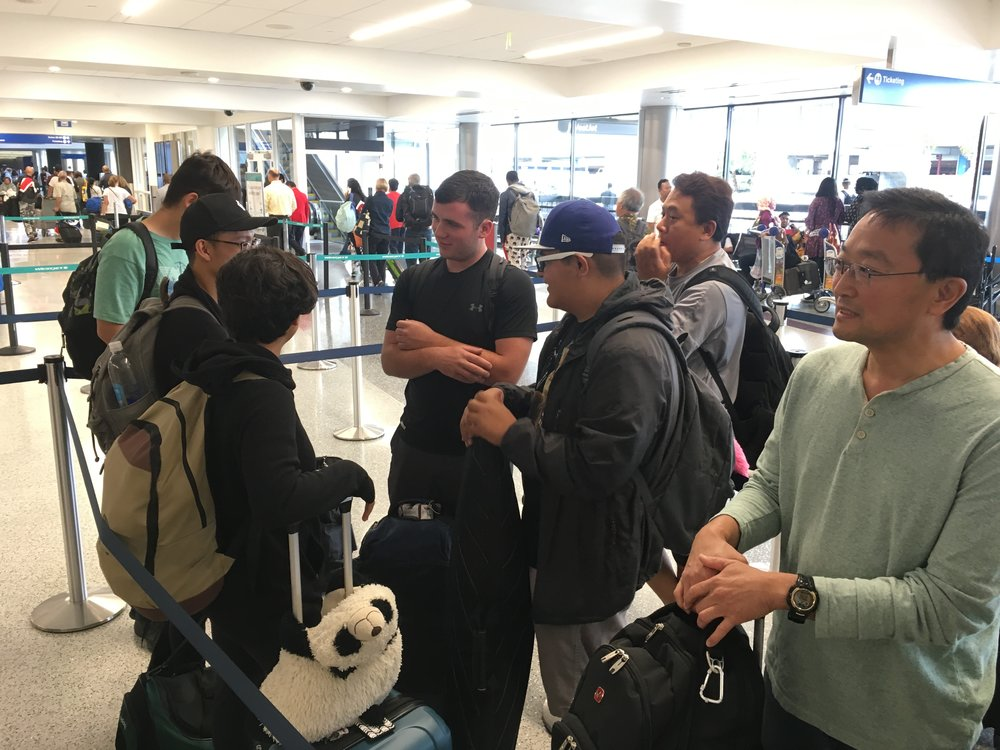 In Line at LAX