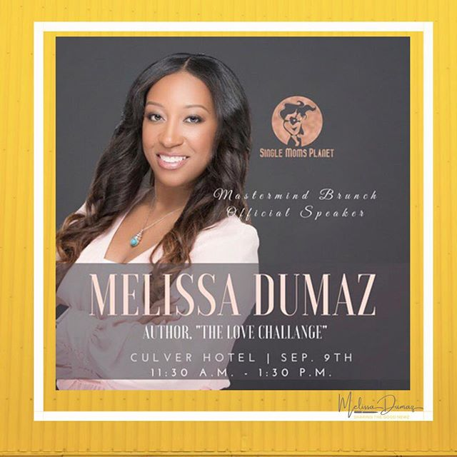 Join me this Sunday, at the @singlemomsplanet Mimosa Mastermind Brunch! I'll be speaking all about Motherhood, Relationships, and LOVE!!! September 9, 2018 from 11:30 am -1:30 pm at the the @culver_hotel. This event will be hosted by the beautiful SMP Ambassador @serriasays. Hope to see you there! ・・・・・・・・・・・・・・・・・・・・・・・・・・ 🥂Click the link in my bio and check out my IG stories to learn more and get your tickets. Space is limited! ・・・ https://www.singlemomsplanet.com/30-day-love-challenge-melissa-dumaz/ - - - - - -#GladTidingsByMel #GoodNewz #FromTheDesk #GoodNews #momsofinstagram #momsofig #MomTips #motherhoodinspired #mommyblogger #instamoms #motherhoodthroughinstagram #honestmotherhood #motherhoodunplugged #thehappynow #simplemoments #livethelittlethings #momlife #QuietTheChaos #MomGoals #MomSoHard #MomStrong #LoveChallengeByMel #SingleMomsPlanet #MomTribe #CulverHotel #LAMomsClub ##InfluencerMoms #BossMom #MastermindBrunch #LunchAndLearn