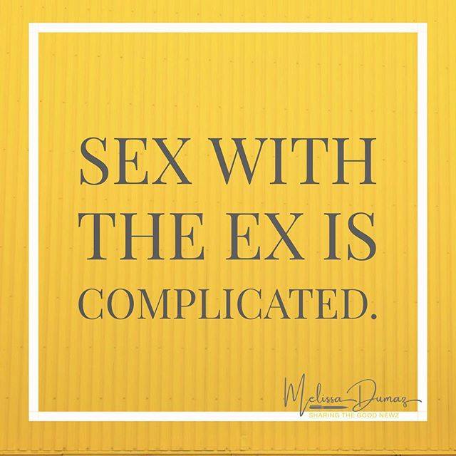 Sex with the ex is complicated. Sex with the ex positions you to be emotionally, mentally, and physically unavailable for a new relationship. Sex with the ex keeps us in the past, stunts our growth, and muddles the boundaries between you and your ex. If you're single and Ready For Love you have to first stop having sex with your ex! Find this and a few more tips in an article I shared with @singlemomsplanet called, Ready For Love: Seven Signs That You May Be Ready For Love. Link in my bio. https://www.singlemomsplanet.com/ready-for-love/ - - - - - -#GladTidingsByMel #GoodNewz #FromTheDesk #GoodNews #momsofinstagram #momsofig #MomTips #motherhoodinspired #mommyblogger #instamoms #motherhoodthroughinstagram #honestmotherhood #motherhoodunplugged #thehappynow #simplemoments #livethelittlethings #momlife #QuietTheChaos #MomGoals #MomSoHard #MomStrong #LoveChallengeByMel #SingleMomsPlanet #RelationshipGoals #ReadyForLove