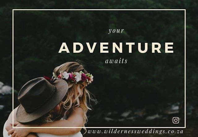 Your adventure awaits. . . . #wildernessweddings
