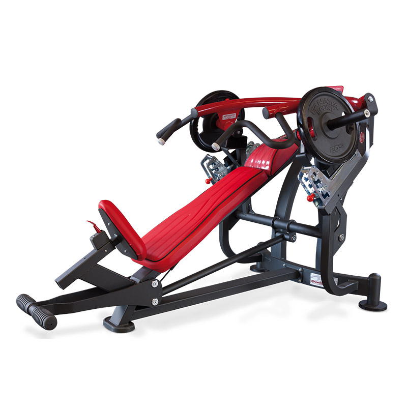 incline bench press - plate loaded - gym equipment
