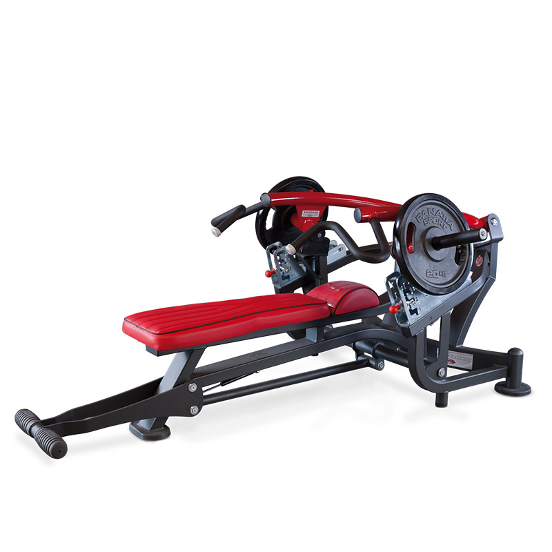 Horizontal bench press - free weights -  commercial gym equipment