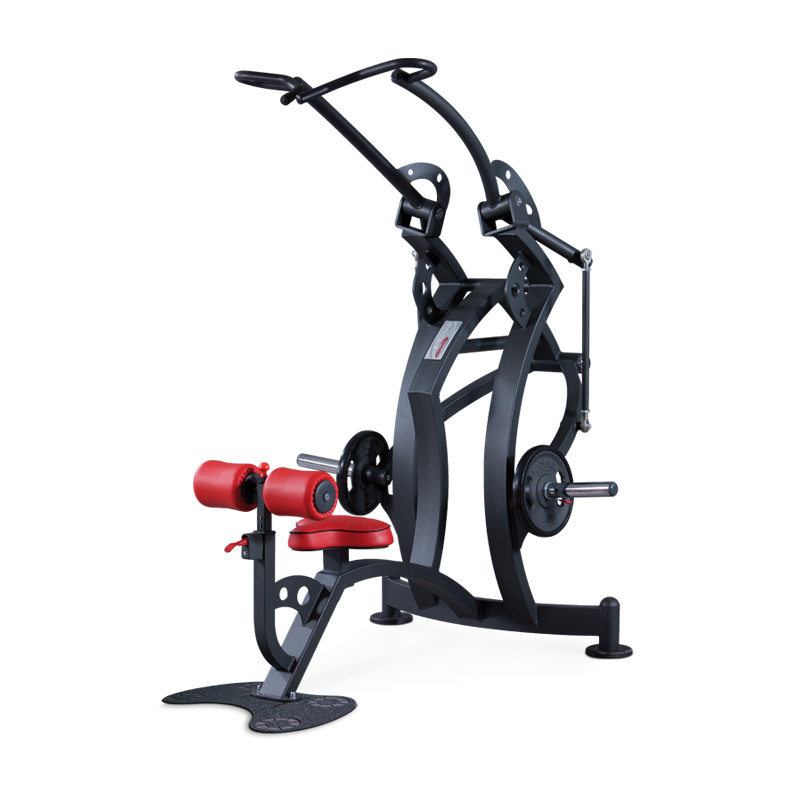 lat convergent - plate loaded - gym equipment