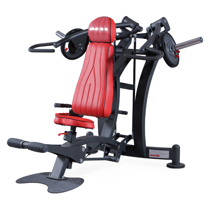 Deltoid press - plate loaded - commercial gym equipment ireland