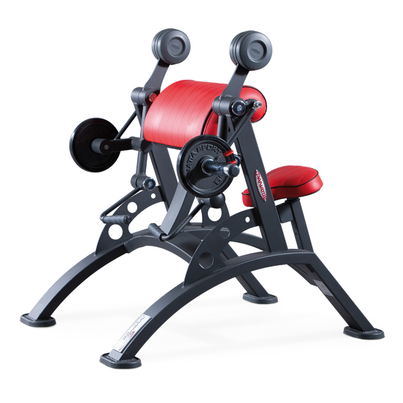 curling machine - plate loaded - commercial gym equipment
