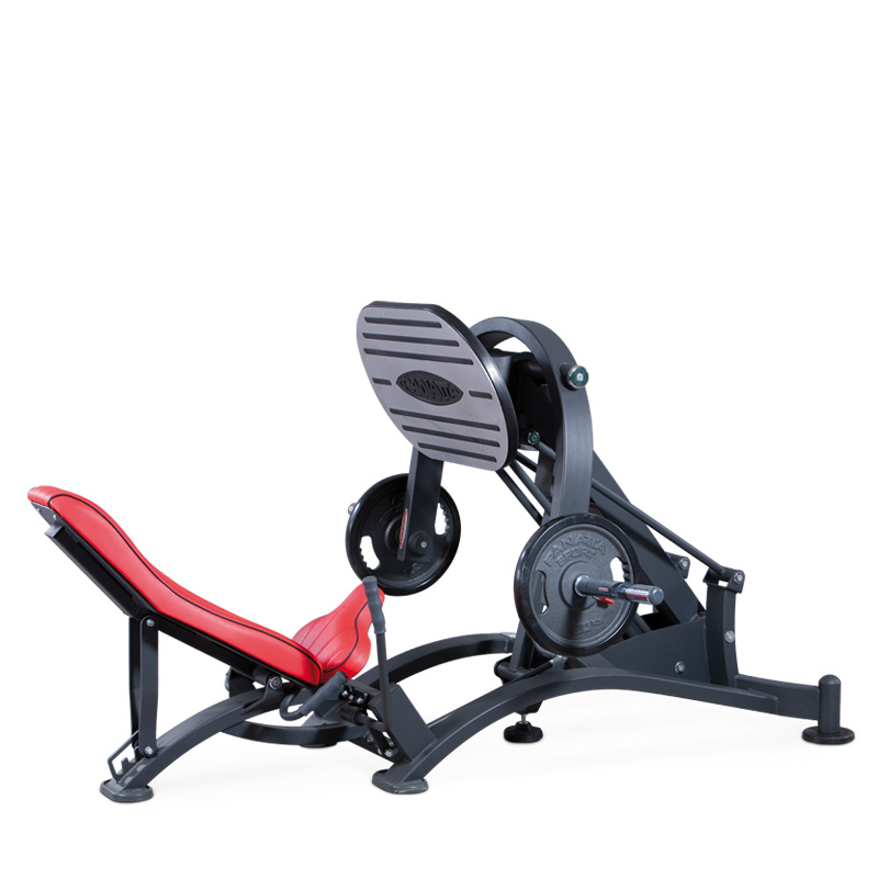 leg press - plate loaded - commercial gym equipment