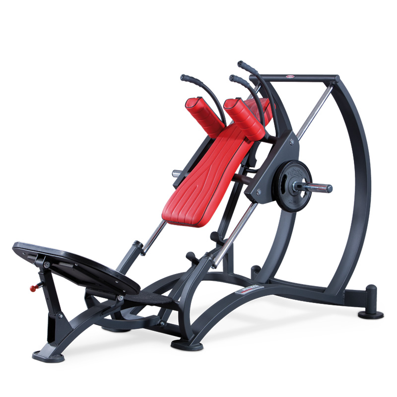 Hack squat - plate loaded - commercial gym equipment
