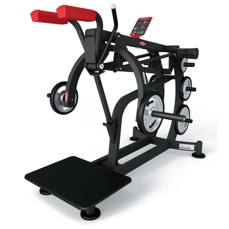 squat machine - plate loaded - equipment