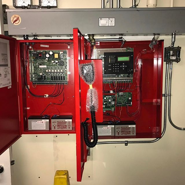 Silent Knight Fire Alarm Panel Upgrade #silentknight