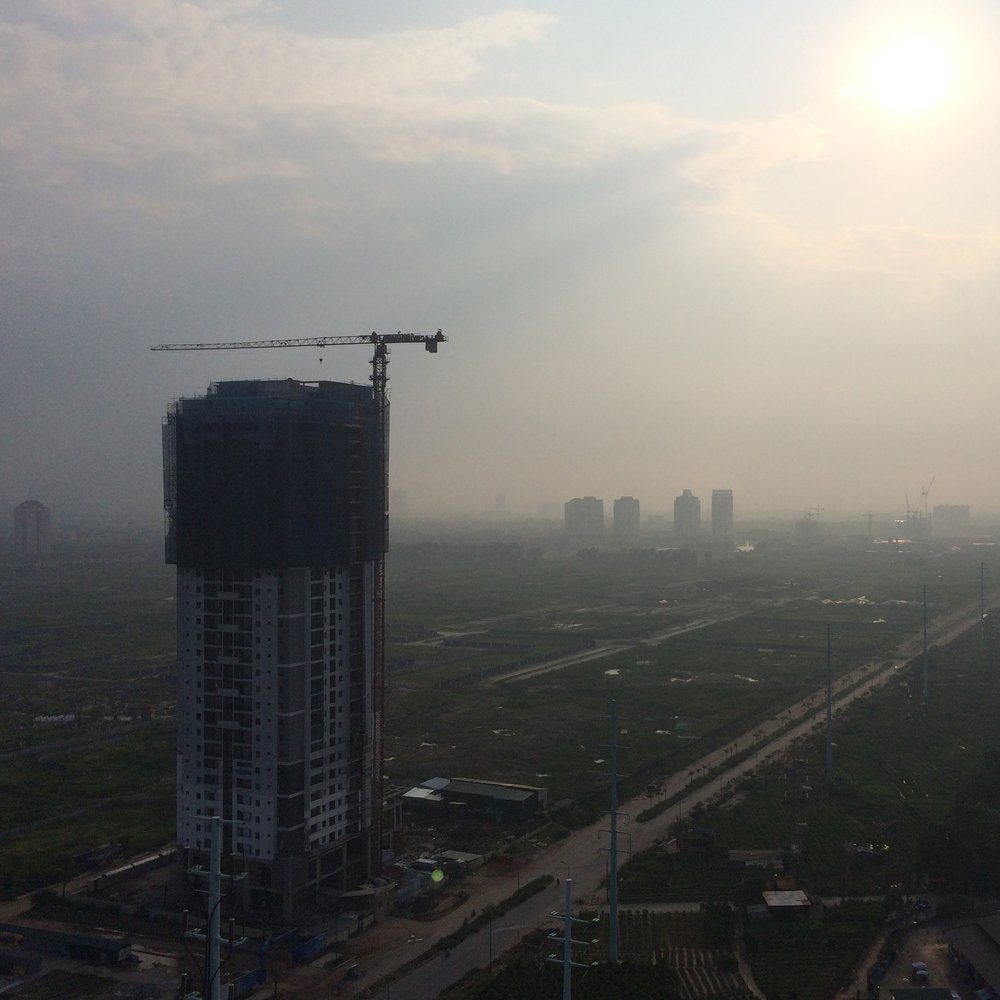 Mega cities are dealing with smog and other harmful pollutions.