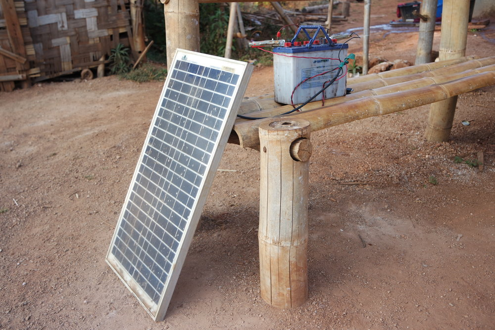 Easy access to electricity: a household solution in rural Myanmar.
