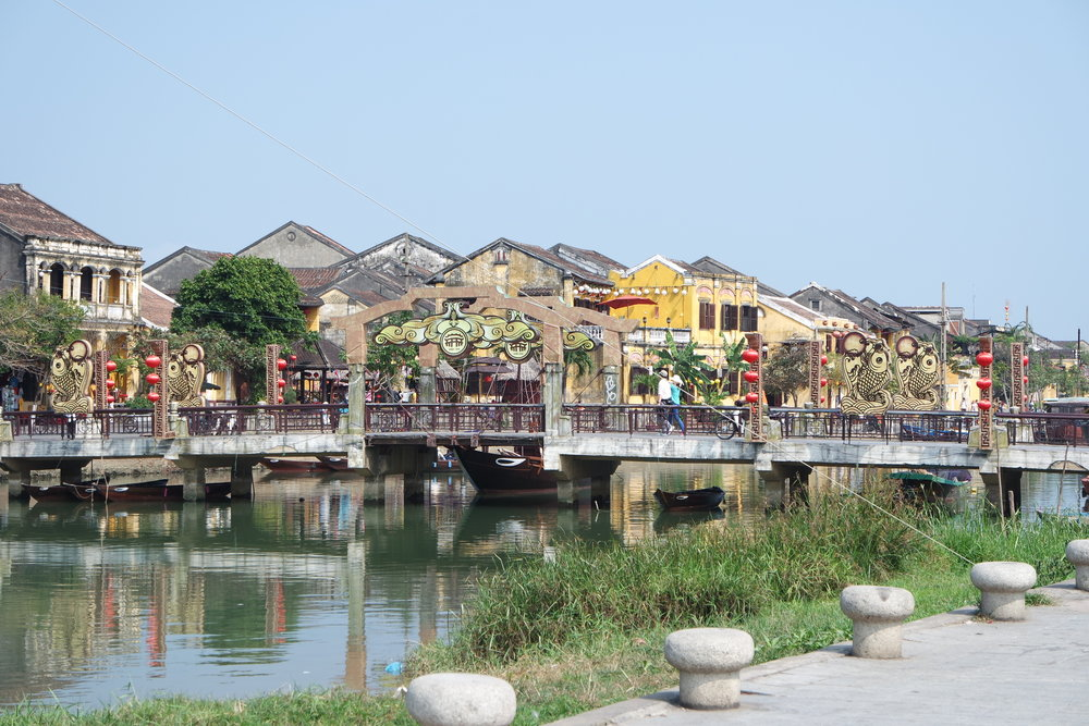 Hoi An's beautiful riverside.