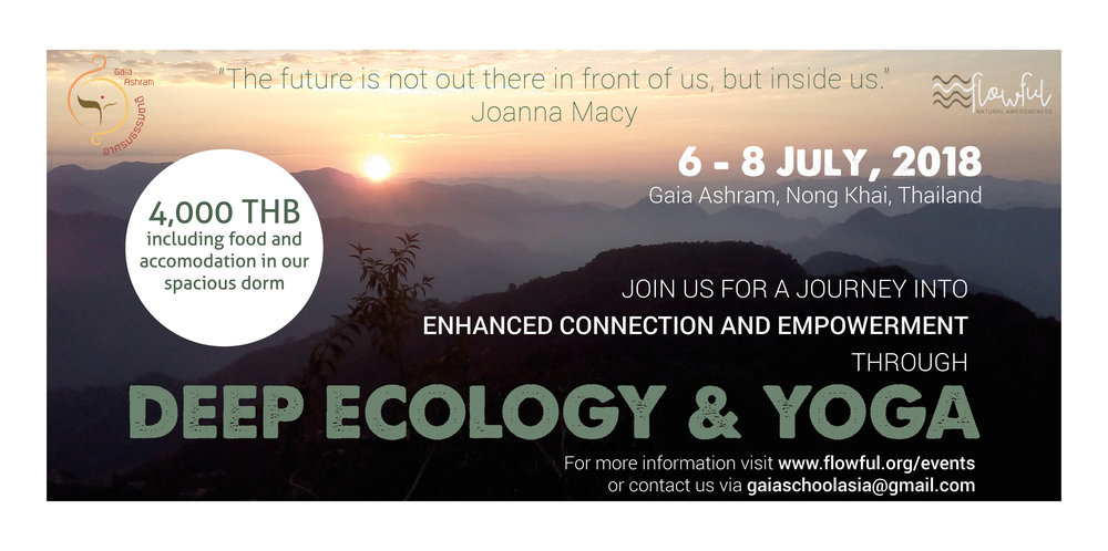 deep ecology and yoga weekend