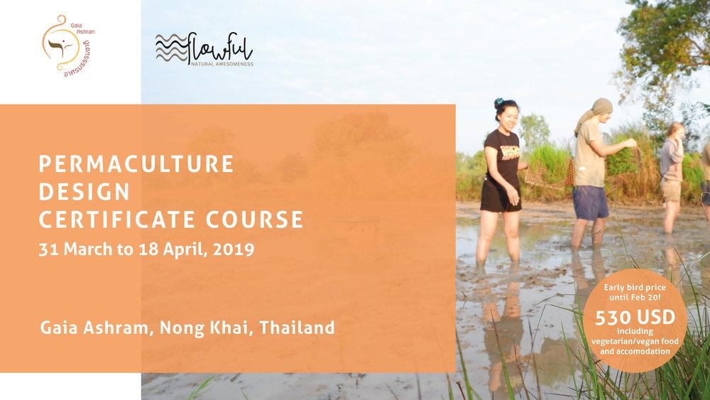 Permaculture Design Course PDC Thailand April 2019