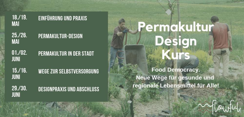 Permakultur Design Kurs PDK Hannover 2019