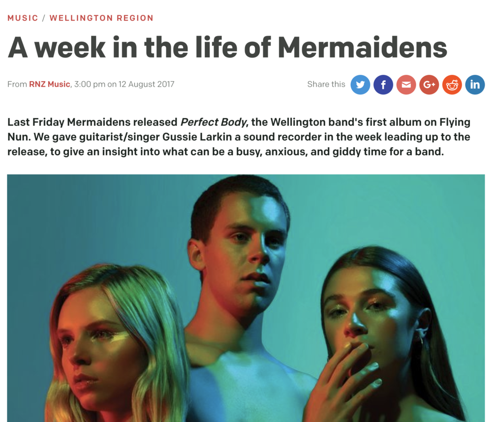 RNZ A WEEK IN THE LIFE