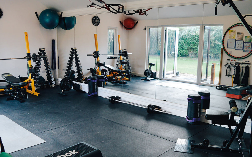My purpose-built gym is located in large secluded grounds, providing all the space, privacy, equipment and amenities necessary in order to allow me to focus completely on designing and guiding you through your own unique exercise formats, routines and progressions. -