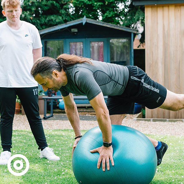 Suffer from lower back pain?  Together, we can work on strengthening your core to help prevent back injury. Your core is the powerhouse of the body and can not only improve your posture but also enhance your daily lifestyle through strength, flexibility, and stability training.  Get in touch through the website - link in bio.