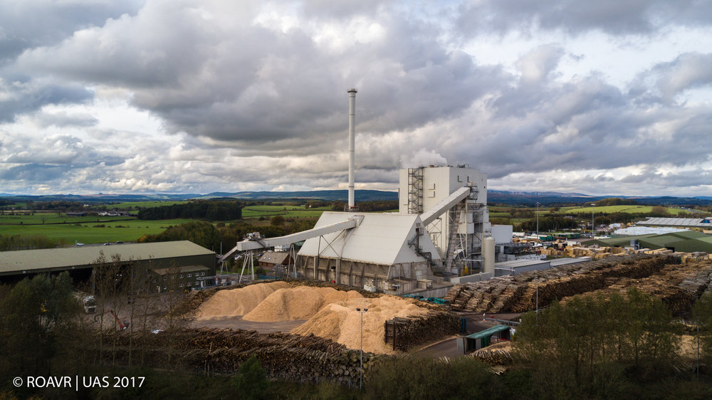 Lockerbie Biomass Power Station - October 2017
