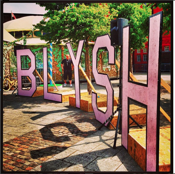 BLYSH FESTIVAL - - CARDIFF BAY -