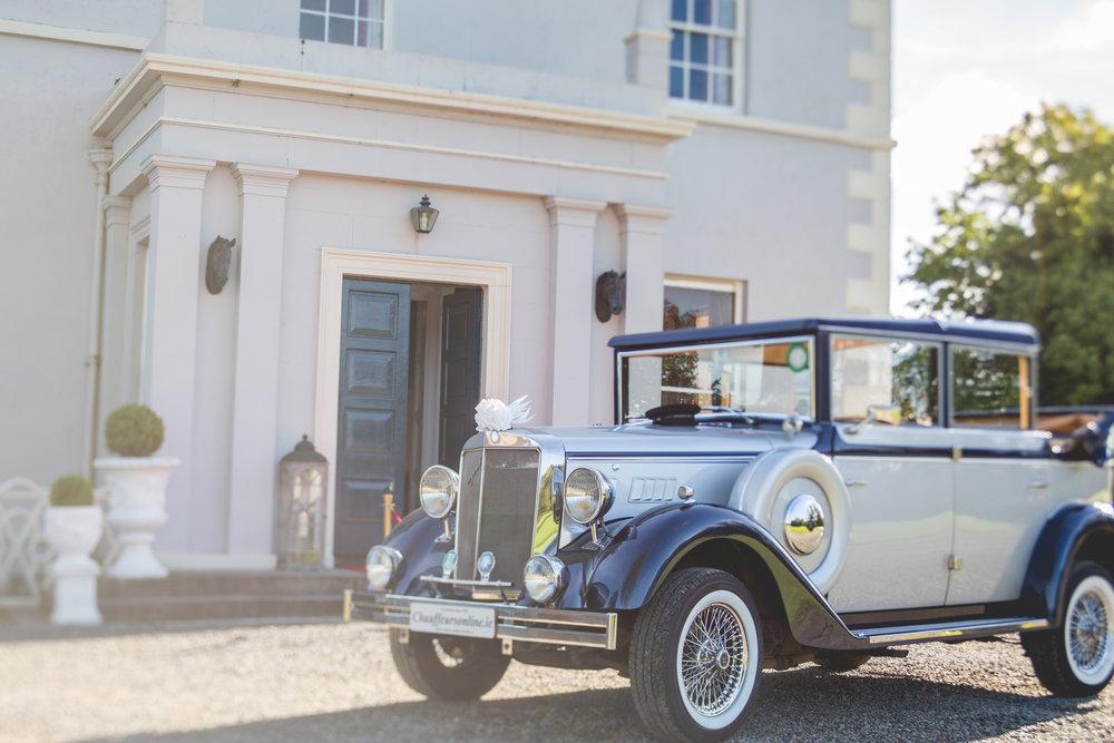 Boyne Hill House Entrance and Car