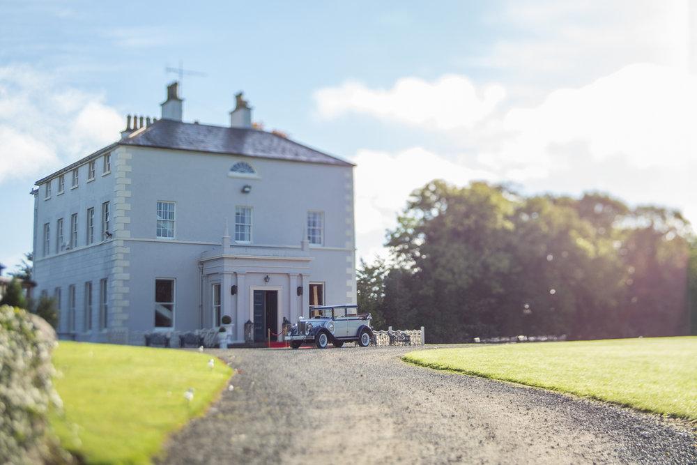 Boyne Hill long entrance