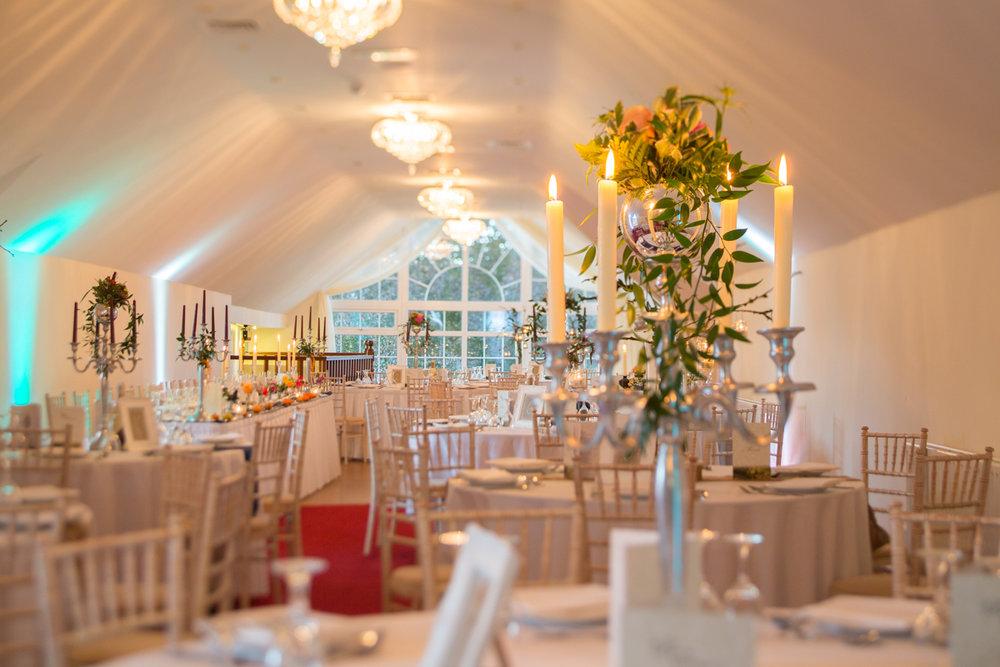 Wedding Reception at Boyne Hill