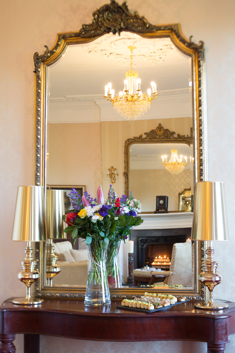 Flowers and Mirror at Boyne Hill