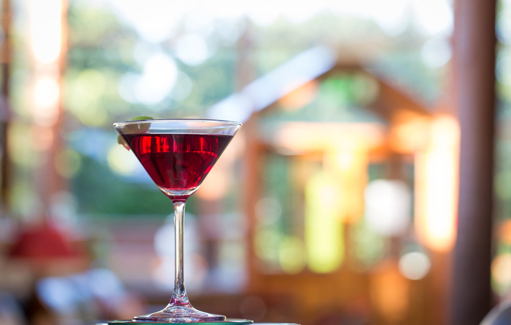 Cocktails at Boyne Hill Bar